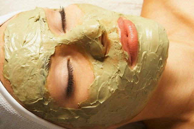 green tea face mask for healthy skin