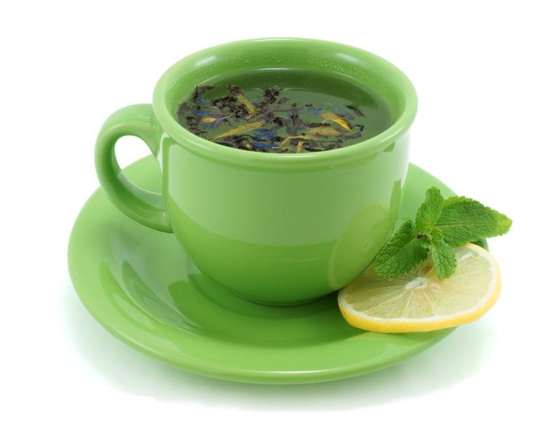 Amazing green tea